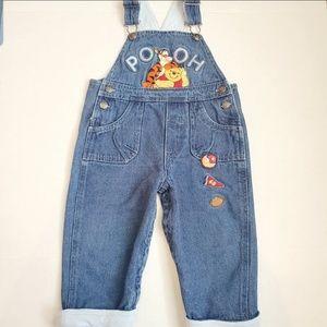 Disney Pooh and Tigger overalls